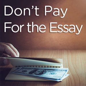 Pay for essay college